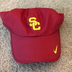 Nike USC Trojan drifit cap